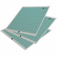 3 Silhouette Cameo Replacement Cutting Mat 12X12' Blue Tacky Surface Cut Craft
