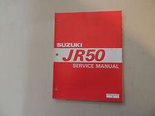 Shop Service manual Suzuki JR 50 1997 Werkstatthandbuch Reparaturanleitung