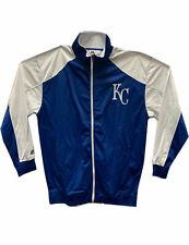Kansas City Royals MLB Zip Front Track Jacket Royal/White A10491RM