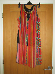 JULIE MACDONALD TRIBAL WOMEN'S TOP SIZE 14  RRP £45  NEW WITH TAGS