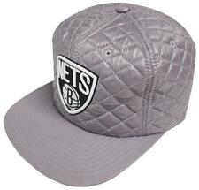 Mitchell & Ness Brooklyn Nets VQ46Z Quilted Snapback Cap Basecap Kappe Mens New