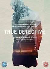 True Detective Series 1 to 2 UK DVD