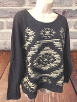 Old Navy Women's Blouse Size L Long Sleeve Pullover Top