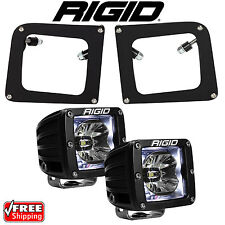Rigid Radiance LED Fog Light Kit White Backlight for 14 15 GMC Sierra 1500 20200