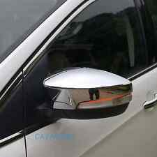Chrome Side Review Mirror Cover Trim Pair Fit Ford Escape 2013-2018