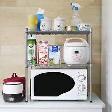 Edelstahl Mikrowellenregal Küchenregal Mikrowellenhalter Mikrowelleständer Küche