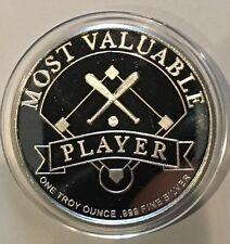 1997 Most Valuable Player The Associates 1 Troy Oz .999 Fine Silver Coin Round
