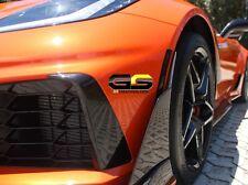 C7 Corvette SMOKED Side & Rear Bumper Markers 6 PIECE Blackout KIT