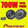 PIONEER 700W TOTAL 2WAY 6.5INCH 16.5cm CAR DOOR 2WAY COMPONENT SPEAKERS TWEETERS