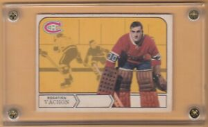 1968-69 OPC # 164 ROGATIEN ROGIE VACHON ERROR CANADIENS MONTREAL