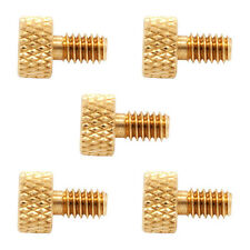 Lot 5 Brass Thumb Binder Screw 8-32 Tattoo Machine for Contact Parts Set Custom