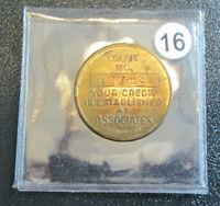 VINTAGE CHICAGO ASSOCIATES CREDIT COIN TOKEN MEDAL (Box7#16)