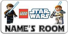 Personalised 'Lego Star Wars' Aluminium Door Name Plaque