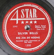 Hear! Country Christmas 78 Big Jim De Noone - Silver Bells / Granny With Her Nig