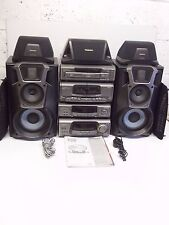 Technics HiFi SA-EH600 Midi System Amplifier, Tuner, 5 Disk CD Changer Player
