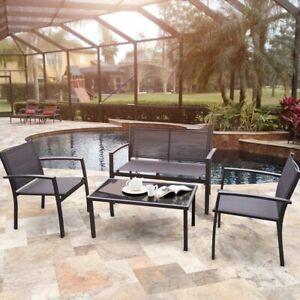 Vineego 4 Pieces Patio Furniture Outdoor