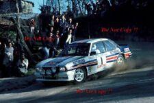 Walter Rohrl Opel Ascona 400 Portugal Rally 1982 Photograph 1