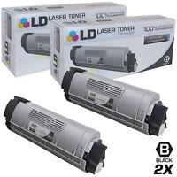 LD Comp Okidata 43324404 2pk HY Black C5500 C5650 C5800 Series Printers