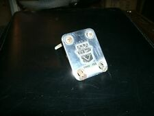 1960's Vox Grand Prix electric guitar neck plate with screws made in Italy