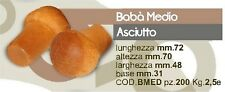 BABA' MEDIO ASCIUTTO 200 PEZZI PROFESSIONALI (PASTICCERIA)