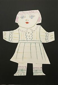 "PABLO PICASSO ""Une Poupee Decoupee"" Limited Edition Lithograph - Marina Picasso"