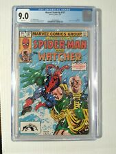 Marvel Team Up #127 CGC 9.0 Amazing Spiderman and the Watcher NM+ 1983 WHT Pages