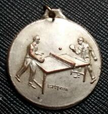 1977 URUGUAY ARMY SPECIALIZED SCHOOL 61th Anniversary PING PONG MEDAL AWARD