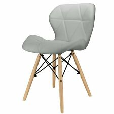 Faux Leather Mid Century Modern Chairs for sale   eBay