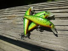 LUCKYCRAFT POINTER STYLE JERKBAIT, CUSTOM PAINTED HOT GREEN GOBY