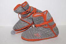 Oregon State University Beavers Slippers, Grey/Orange, Womens US Size 7/8