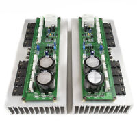 One Pair PR-800 Class A /AB Professional power amplifier board with heatsink