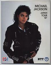 Michael Jackson Japan Tour 1987 Concert Program Book
