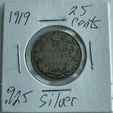 1919 CANADA 25 CENTS***L@@K***Nice Grade***Combined Shipping***L@@K***