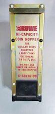 Rowe Hi-Capacity Coin Hopper 6-50276-09 For Bc35, Bc100, Bc1200, Bc3500