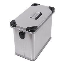 Páginas de moto maleta bagtecs 45l maletín de aluminio plateado universal estuche de aluminio