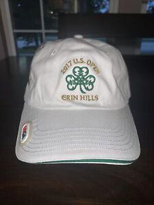 2017 US OPEN - ERIN HILLS - USGA - WHITE - ADJUSTABLE BALL CAP HAT