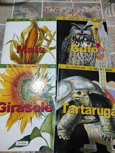 Lotto 4 libri Jaca Book dentro la natura usati ottimo stato spedizione gratuita