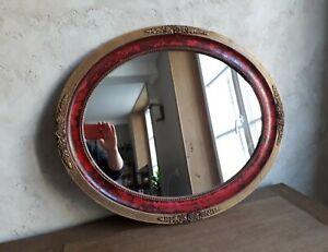 Miroir avec cadre doré ancien