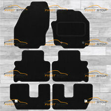 TAILORED VELOUR FLOOR MATS FOR FORD S MAX 2010-2011-7 SEAT VERSION WITH OEM HOLE