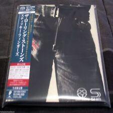 THE ROLLING STONES - STICKY FINGERS - Japan SACD-SHM Mini LP CD