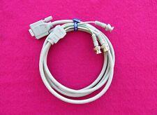 New listing Hp Vga to Av Adapter Vga to 3 Bnc Male Plug Red, Green, Blue.