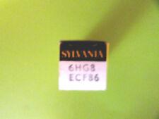 6HG8 / ECF86 SYLVANIA VINTAGE (TUBE), (NEW IN BOX / NEW OLD STOCK).