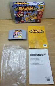 Super Smash Bros( Nintendo 64 N64) Original Includes Box,Game Cartridge & Manual