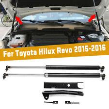 2pcs Front Bonnet Gas Struts Hood Lift Support For Toyota Hilux Revo