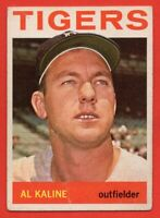 1964 Topps #250 Al Kaline VG-VGEX+ WRINKLE  HOF Detroit Tigers FREE SHIPPING