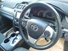 TOYOTA CAMRY STEERING WHEEL LEATHER TYPE, ASV50/AVV50, W/ CRUISE CONTROL, 12/11-
