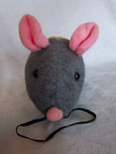 """New listing Pet Select Scratch Rattle & Roll Mouse 15"""" Plush Soft Toy Stuffed Animal"""