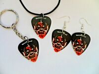 New  MOTORHEAD Picture  Guitar Pick Necklace //  Earrings //  Keyring  New