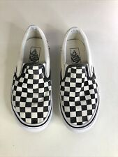 Vans Checkerboard Slip On Trainers - Size 5