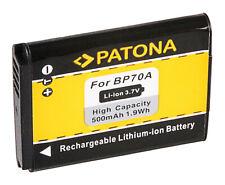 Batteria Patona 3,7V 500mAh per Samsung ST67,ST68,ST70,ST700,ST71,ST72,ST75,ST76